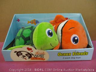 think dog Ocean Friends 2 Pack dog toys