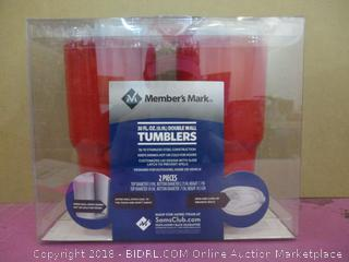 Double Wall Tumblers Factory Sealed