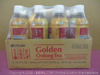 Ito En Golden Golong Tea Unsweetened Factory Sealed