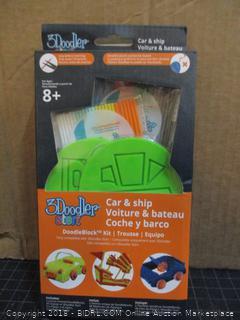 3Doodler Car & Ship  Factory Sealed