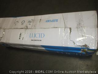 LUCID 10 Inch Gel Memory Foam Mattress - Dual-Layered - Full (Retail $218.00)