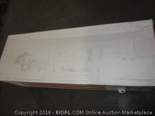Bailey & Jensen LF1233XL Latex Cool Mattress, Twin/X-Large (Retail $605.00)