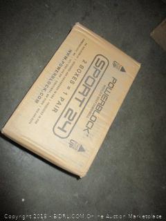 Power Block GF-SPDBLK24 Adjustable SpeedBlock Dumbbells (Retail $126.00) - Incomplete
