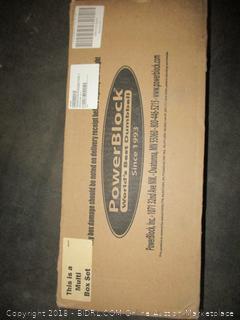 Power Block Elite Dumbbells (Retail $598.00) - Incomplete