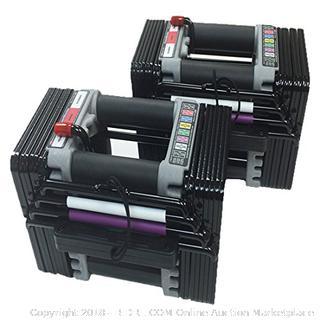 Power Block Elite Dumbbells (Retail $270.00)