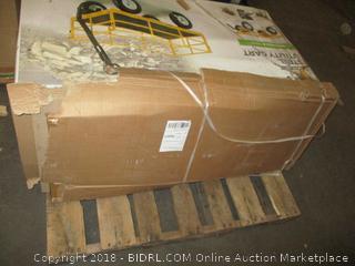 "Edsal URWM184872BK Black Steel Storage Rack, 5 Adjustable Shelves, 4000 lb. Capacity, 72"" Height x 48"" Width x 18"" Depth (Retail $81.00)"
