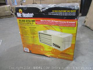 Mr. Heater F260550 Big Maxx MHU50NG Natural Gas Unit Heater (Retail $348.00)
