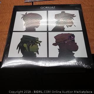 Gorillaz Demon Days Vinyl