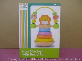 Kid us Lion Stacker with Bead Fun
