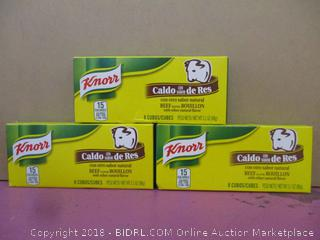 Knorr Beef Flavored Bouillon with other natural flavor