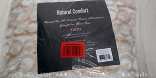 Twin Comforter Set - New