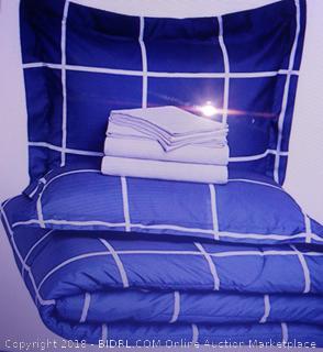 Bed-In-A-Bag Queen Comforter Set - New