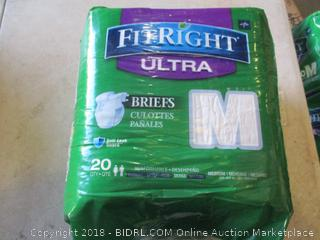FitRight Ultra Briefs Size M
