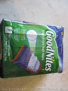GoodNites Disposable Bed Mats