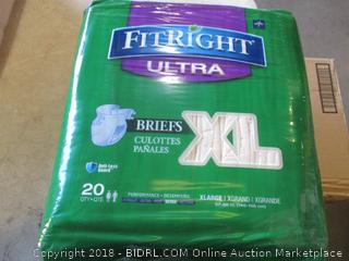 FitRight Ultra Briefs Size XL