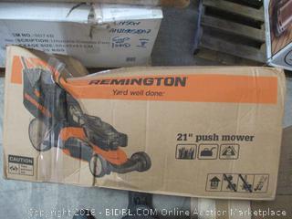 "Remington 21"" Push Mower"