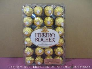 Ferrero Rocher Fine Hazelnut Chocolates  Factory Sealed  2 Trays See Pictures