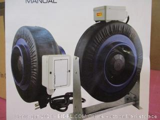 """VenTech IF6  6"""" Inline Duct Fan 440 CFM Factory Sealed See Pictures"""
