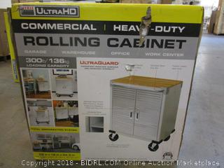 Commercial/Heavy Duty Rolling Cabinet  Factory Sealed