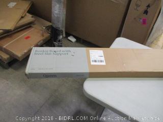 Zinus Bunkie Board with Steel Slat Support Queen