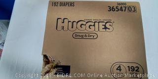 Huggies Diapers - New