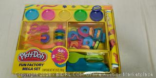 Play-Doh Fun Factory Mega Set - New