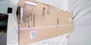 Furinno 99940LC/IV Bookcase Storage w/Bins - New - (Online $41)