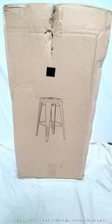 Steel Stool - Christies Home Living - Set of 2 - Black - (Online $130+)