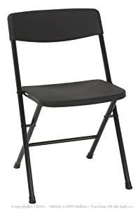 Resin 4-Pack Folding Chairs - New - (Online $47+)