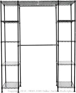 "Expandable Closet Organizer - 14"" x 58"" Expands to 63"" x 72"" - New - (Online $88.99)"