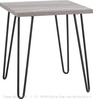 End Table Gray - New - (Online $48+)