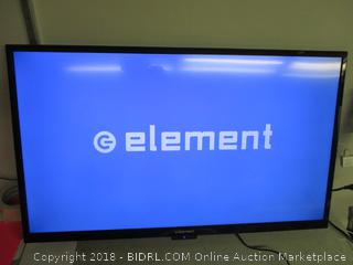 Element TV monitor with remote