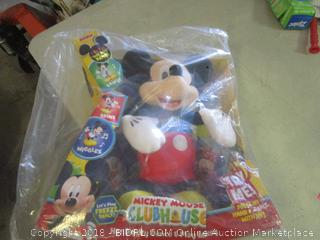mickey mouse clubhouse dance and play mickey toy