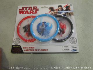 Star Wars dive rings