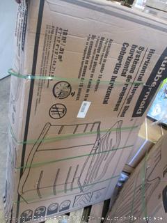 Horizontal Storage Shed (Damaged Box - Factory Sealed)