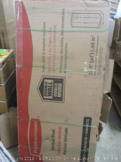 Vertical Shed (Factory Sealed)