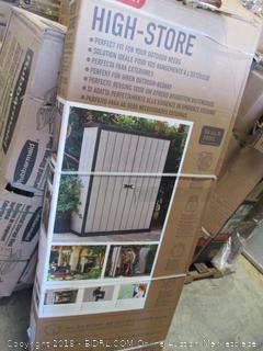 Storage Shed (Damaged Box - Factory Sealed)