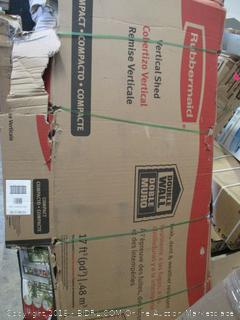 Vertical Shed (Damaged Box - Factory Sealed)