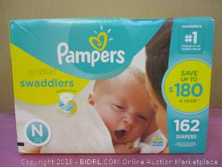 Pampers Swaddlers 162 Diapers