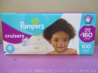 Pampers Cruisers Diapers  100 Diapers