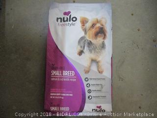 Nulo Freestyle Small Breed Dog Food  Factory Sealed
