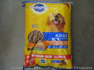 Pedigree Adult Dog Food 15 lbs Factory Sealed