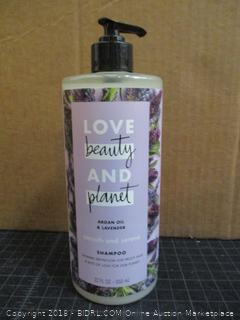 Love Beauty &  Planet Argan Oil & Lavender Shampoo