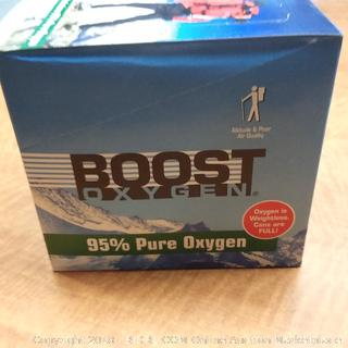 Boost Oxygen 95% Pure Oxygen