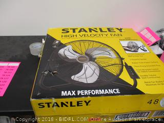 Stanley High Velocity Fan