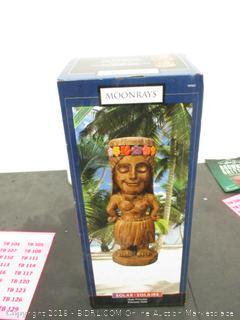 Solar Hula Princess Figurine