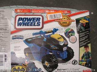 Power Wheels Quad