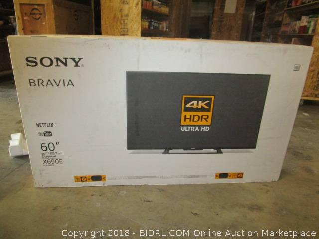 BIDRL COM Online Auction Marketplace - Auction: TV Auction ***Items