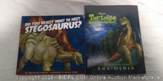 2 Dinosaur Books