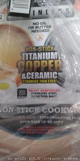 Non-Stick Titanium, Copper, and Ceramic Cookware